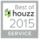 Houzz Best of Service award for Imagine That Kitchens & Baths